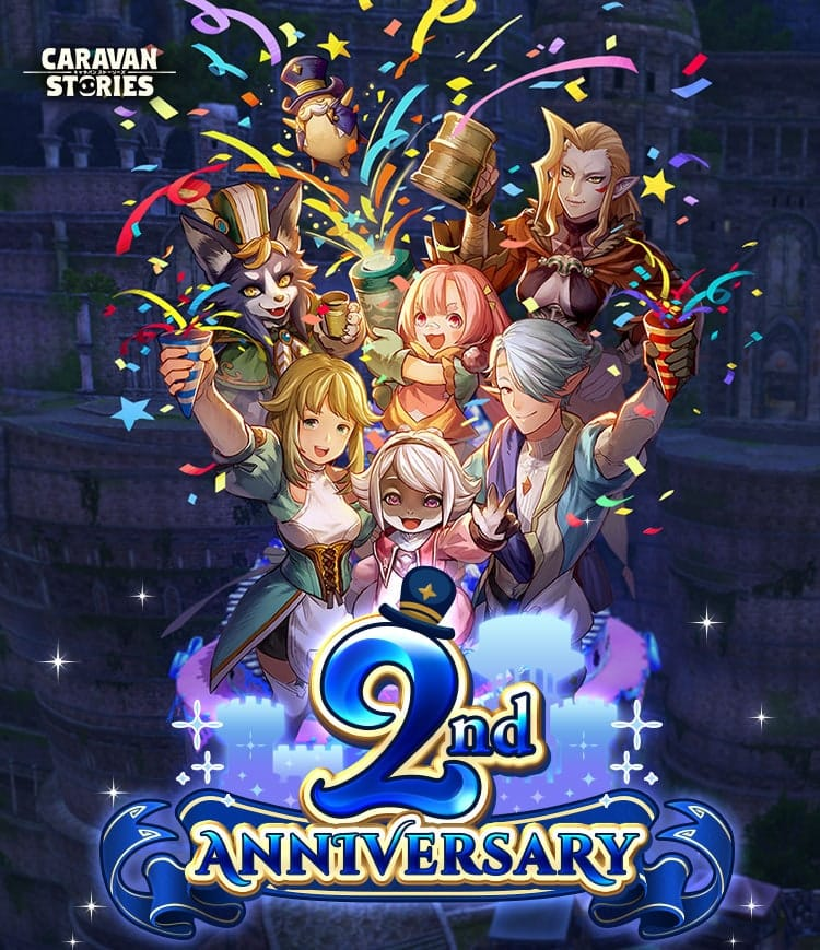 CARAVAN STORIES 2nd ANNIVERSARY